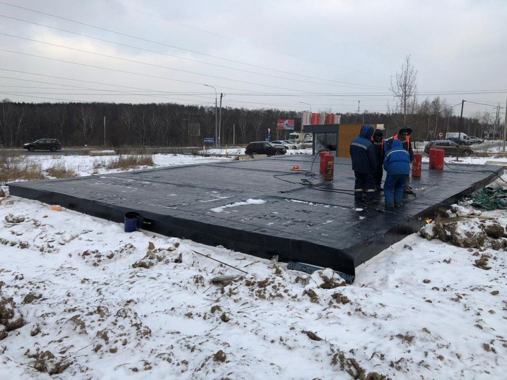 Активное строительство основного офиса продаж
