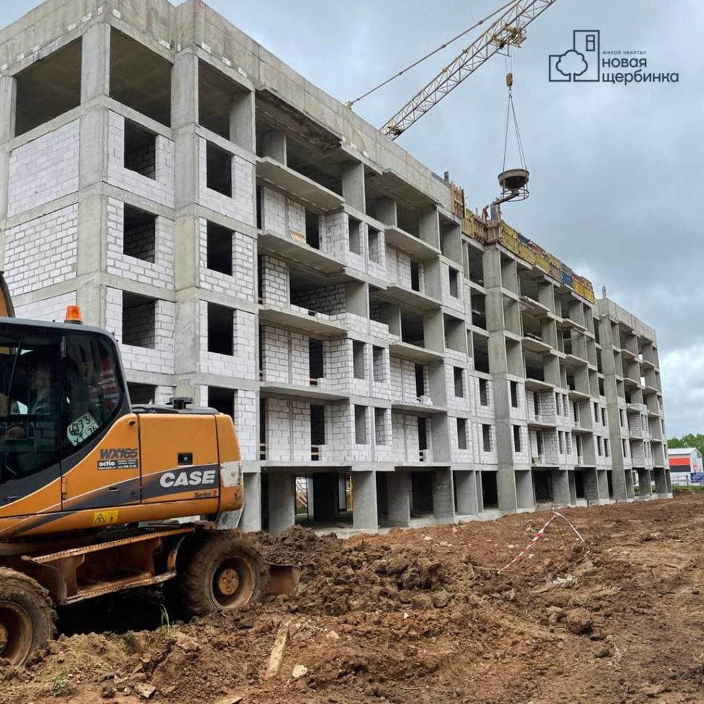 Строительство 10 дома, актуальная информация
